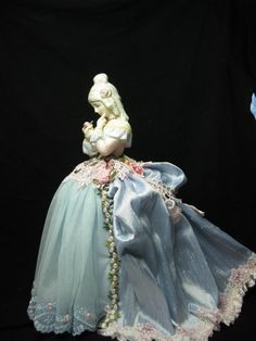 New Porcelain Half Doll dressed in 18th Century by KaysStudio