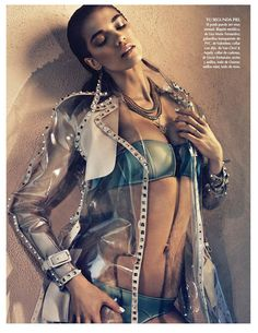 Samantha Gradoville Shines in Metallic Style for Vogue Latin America June 2013 | Fashion Gone Rogue: The Latest in Editorials and Campaigns