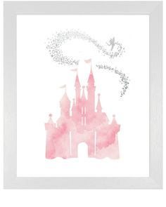 Hey, I found this really awesome Etsy listing at https://www.etsy.com/listing/255114463/pink-cinderella-castle-with-tinkerbell