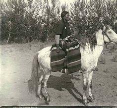 Yakama Indian woman on horseback, Washington, 1899. :: Frank La Roche Photographs, ca. 1888-1910