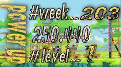 Angry Birds Friends Tournament Week 203  Level 1   power  HighScore ( 25...