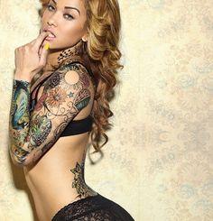 . #Tattoos #Girls #Women