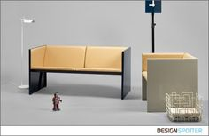 From Mats Theselius / Andreas Roth (Sweden): Lodger sofa