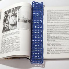 Semn de Carte din Dantelă 3 · HAV-A.ro really nice bookmarck Tie Clip, Nice, Nice France, Tie Pin