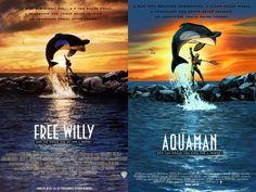 Aquaman 40 Voltar para DC Comics faz mês de homenagem a cartazes de filmes - veja as capas das HQs