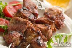 Receita de Espetinho de alcatra (para churrasco) em receitas de carnes, veja essa e outras receitas aqui!
