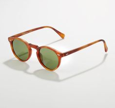 Oliver Peoples - Gregory Peck Sunglasses, Matte Carretto