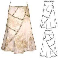 ru / Foto # 17 - Saias (modelos, croquis) - Lenchik-O Clothing Patterns, Dress Patterns, Sewing Patterns, Sewing Clothes, Diy Clothes, Clothes For Women, Jeans Rock, Diy Fashion, Fashion Design