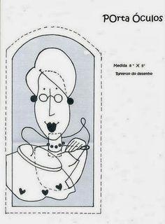 dibujo de funda de gafas