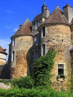 Château de Ratilly en Puisaye (Yonne 89) #Yonne #Medieval #Bourgogne