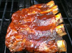 The Acquistion of Taste: Grilled Baby Back Ribs with Homemade Barbecue Sauce