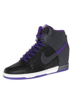 DUNK SKY HI - Sneakers high - sort