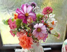 Picked from our garden yesterday. Floral Wreath, Wreaths, Garden, Flowers, Plants, Home Decor, Floral Crown, Garten, Decoration Home