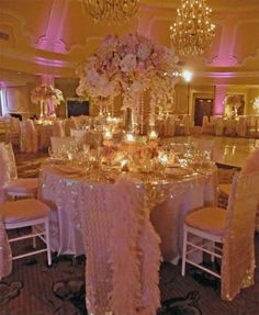 Stunning wedding reception decor! This couple paid attention to every little detail #LavishSoireeWeddings