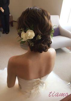 お気に入りのドレス達に合わせるお洒落な3STYLE♡ の画像|大人可愛いブライダルヘアメイク 『tiamo』 の結婚カタログ