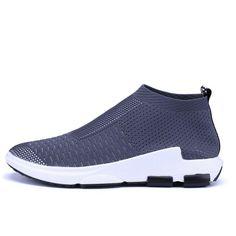 Non-slip fashion casual fashion shoes – Benovafashion Running Sneakers, Running Shoes For Men, Mens Running, Cross Training Shoes, Comfortable Sneakers, Sport Socks, Sock Shoes, Fashion Shoes, Fashion Men