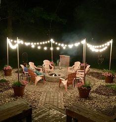 Awesome DIY Fire Pit Plans Ideas With Lighting in Frontyard Fantastische DIY-Feuerstelle plant Ideen mit Beleuchtung in Frontyard
