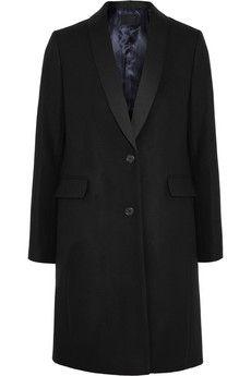 J.Crew Tuxedo-style wool-blend coat | NET-A-PORTER