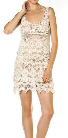 *Crochet Beach Cover Up* www.shopartifact.com