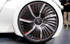 Audi Urban Concept Wheel... These are the one of the best-looking wheels... #Audi #pirelli #cinturato #prototyp