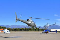 Helicopter dance with Elite Adventure Tours, our departure from our part of the airport is often simultaneous with several other helicopter takeoffs.  Between film production and news aircraft, tour and transportation whirlybirds make for a busy sky.
