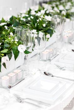 Dîner en Blanc – All White Design