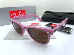 2011 Cheap Ray Ban RB2140 968/57 Sunglasses in pink with Brown g