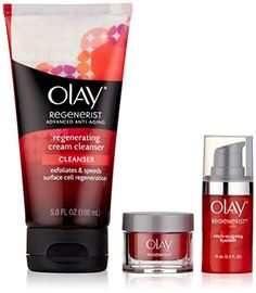 Olay Regenerist Cream Cleanser with Regenerist Micro Sculpting Eye Swirl Eye Cream and Regenerist Micro Sculpting Cream Moisturizer Trio Pack, 1 Kit *** Discover this special product, click the image : Eye Care Exfoliate Face, Face Cleanser, Eyeshadow For Brown Eyes, Hydrating Serum, Olay Regenerist, Eyes Lips Face, Face Treatment, Best Face Products, Eye Cream