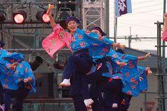 Yosakoi Dance Festival 2005 in Asaka by Woodenship, via Flickr