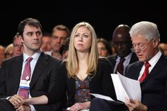 Chelsea Clinton, vanguard Millennial at Clinton Global Initiative.  Millennials are engaging with big ideas for social change (for good) on a global basis.