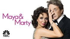 Watch Maya & Marty- so funny!!!!  Great new show.