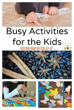 Busy Activities for the Kids {the kids co-op 3-27}