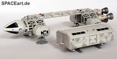 Mondbasis Alpha 1: Eagle Transporter, Fertig-Modell ... http://spaceart.de/produkte/ga038.php