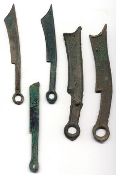 Knife coins - Warring states