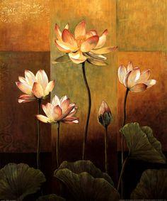 Lotus Schilderijen bij AllPosters.nl