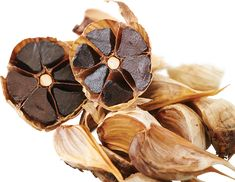 Aged Black Garlic is a form of Garlic created using an extraction and aging process under controlled temperature and humidity over a period of time. It produces an odourless garlic rich in beneficial compounds including antioxidant rich amino acids such as S-Allyl-Cysteine (SAC).  Find out more about Caruso's Aged Garlic at www.carusosnaturalhealth.com.au/aged-black-garlic Black Garlic, Snack Recipes, Snacks, Temperature And Humidity, Aging Process, Amino Acids, Period, Chips