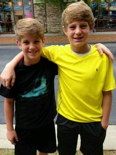 Matty B and his brother Jeebs.