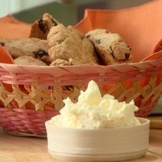 Dried Cherry Almond Scones By Anne Burrell