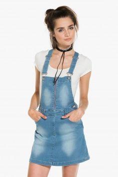 Denim skirt overalls Dress Me Up, Overall Shorts, Denim Skirt, Overalls, Skirts, Outfits, Shopping, Clothes, Dresses