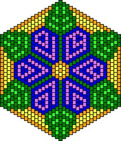 """The location where building and construction meets style, beaded crochet is the act of using beads to decorate crocheted products. """"Crochet"""" is derived fro Pony Bead Patterns, Peyote Stitch Patterns, Loom Patterns, Beading Patterns, Beading Tutorials, Bracelet Patterns, Crochet Mandala, Tapestry Crochet, Bead Crochet"""