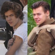 How fast the night changes.... ayyy where are they getting these pictures from??? Lol