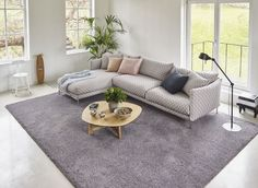 Met de luxe dikke pool brengt Parade Chanelle tapijt comfort in de moderne woonsfeer.