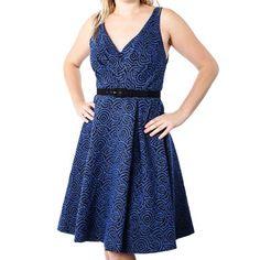 Abigail Dress Moonlight Bark