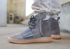 "How the adidas YEEZY 750 Boost ""Light Grey"" Looks On-Feet http://SneakersCartel.com #sneakers #shoes #kicks #jordan #lebron #nba #nike #adidas #reebok #airjordan #sneakerhead #fashion #sneakerscartel"