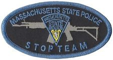 Massachusetts State Police Stop Team Shoulder Patch