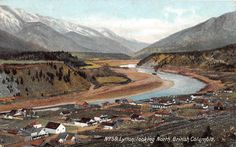 Looking North from Lytton British Columbia, July 1893
