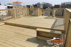 1000 images about 2 story garage on pinterest flat roof for Flat roof garage with deck plans