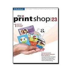 The Print Shop v.23 (JC), (print shop, greeting card software, card making, software, creativity, home publishing, printshop, greeting cards, labels, calendars)