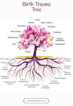 The Birth Trauma Tree – Unfold Your Wings