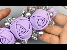 Only one band Such a Delicate rose of foamiran eva foamy Paper Flowers Craft, Giant Paper Flowers, Flower Crafts, Fabric Flowers, Ribbon Art, Ribbon Crafts, How To Make Piping, Crochet Beach Bags, Ribbon Flower Tutorial